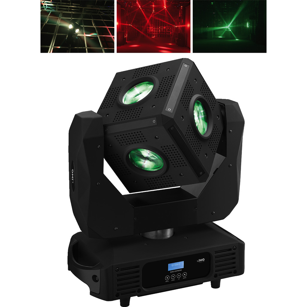 LED moving head RGBW - CUBE-630/RGBW