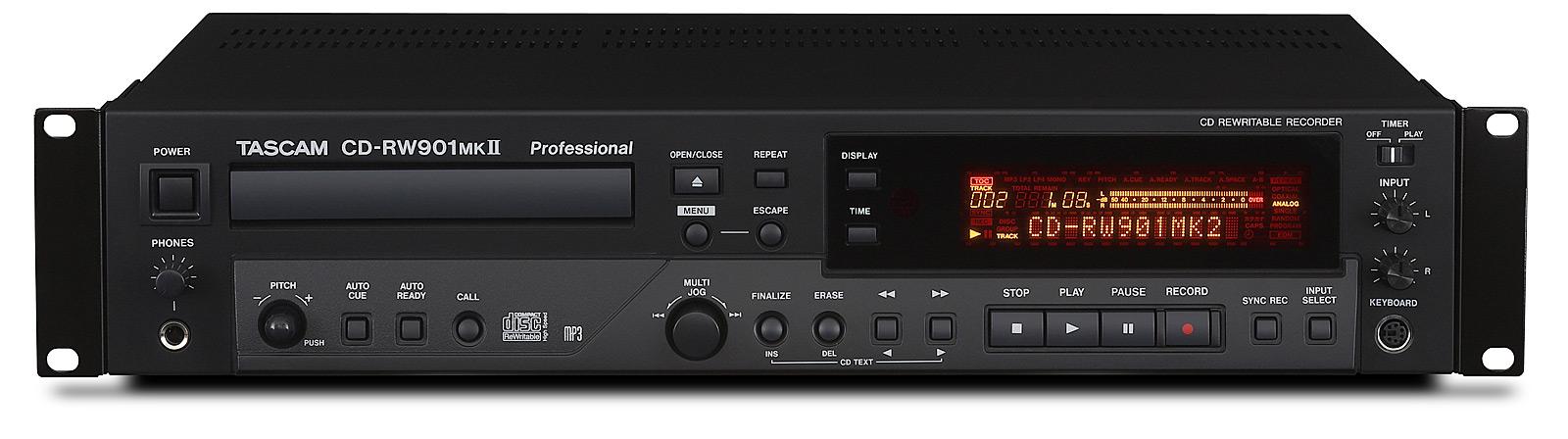 Tascam CD-RW901mk2 CD recorder CD-R og CD-RW
