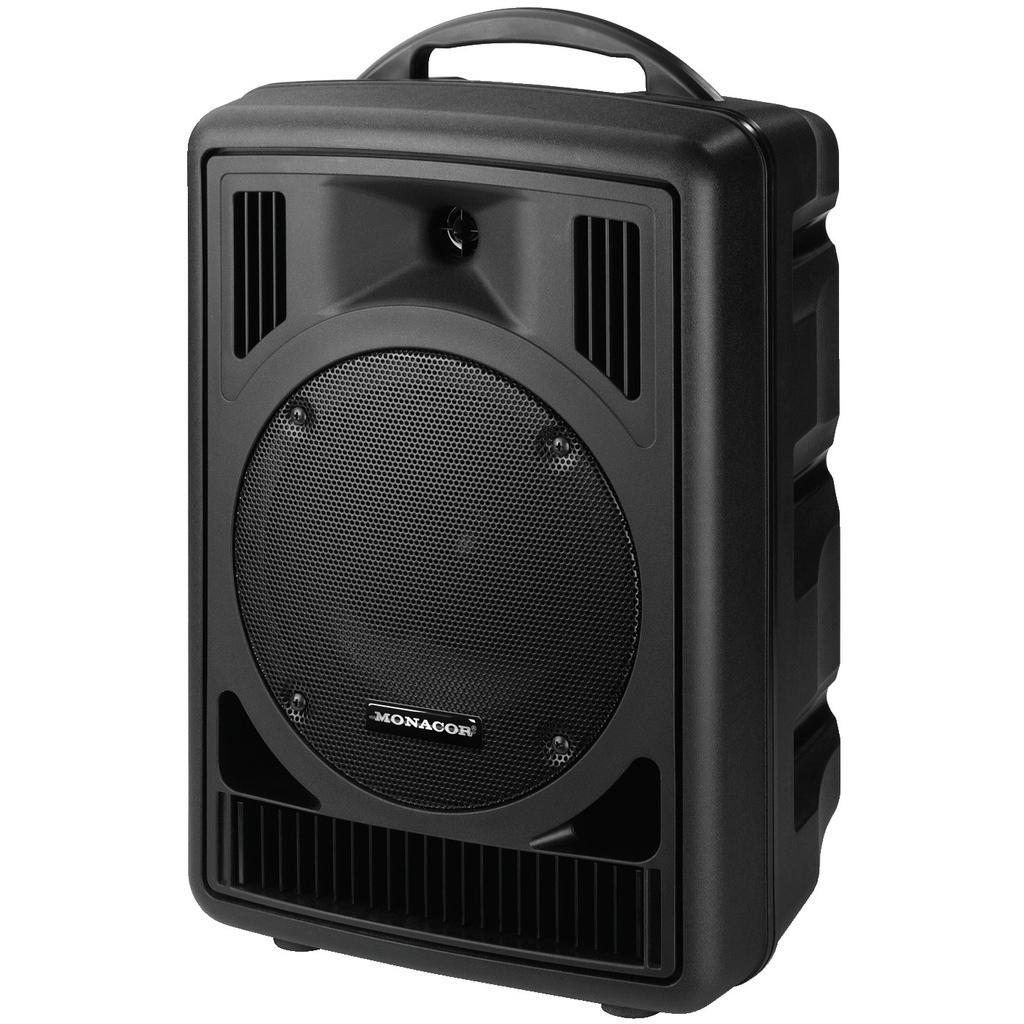 TXA-802CD transportable højttaler med forstærker og mikrofon