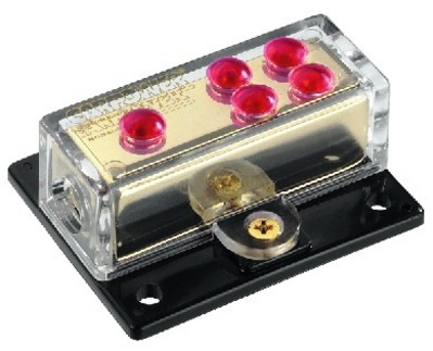 Billede af CPD-4G 4 vejs strømfordelerboks