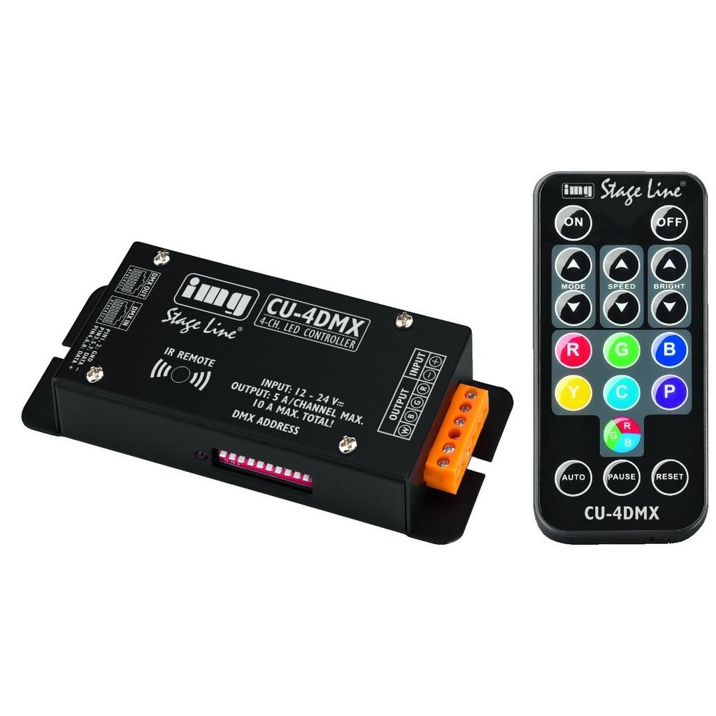LED DMX controller CU-4DMX