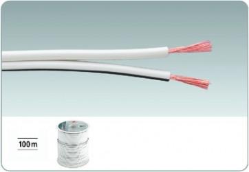 SPC-75/WS Højttalerkabel 100m hvid