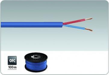 SPC-515/BL Højttalerkabel 100m blå