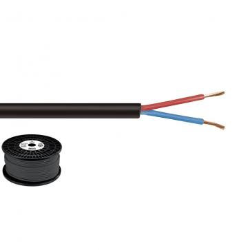 Højtt. kabel 2x1.5mm2 halogenfrit - SPC-515H/SW