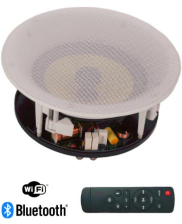 Bluetooth og Wifi aktiv Indbygnings-højttaler sæt C6-link (MSR-6WF)