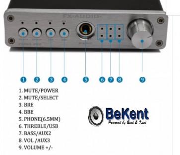 Forforstærker og DAC FX-98S Pro