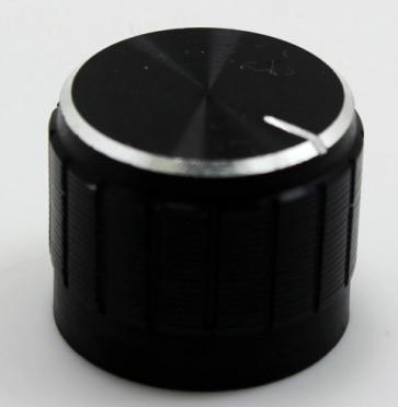 Knap potentiometer 21x17mm ALU