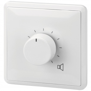 ATT-336PEU ELA-volumekontrol 10 steps, alarm relæ, til 100 volt systemer