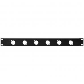 19´´ frontplade 1U m/huller - RCP-8731U