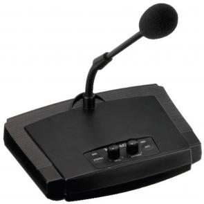 Monacor Bordmikrofon med klokke - ECM-450