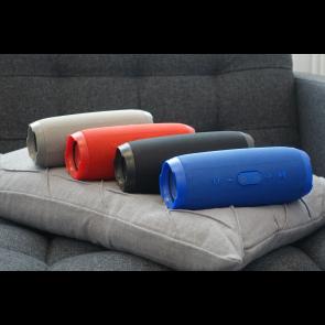 Bluetooth højttaler transportabel rød