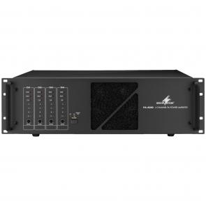 PA-4240 PA-forstærker 4x240Wrms til 100 volt og 4 Ohm