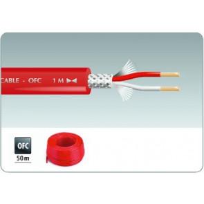 MLC-52/RT Signalkabel 50m rød
