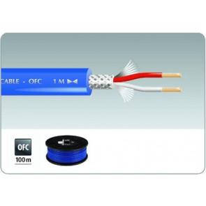 MLC-152/BL Mikrofonkabel 100m blå