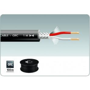 MLC-152/SW Mikrofonkabel 100m sort