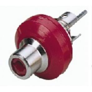 T-706NI/RT Phonobøsning rød
