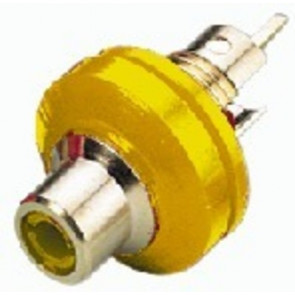 T-706GI/GE Phonobøsning gul