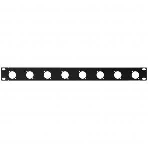 19´´ frontplade 1U m/huller - RCP-8732U