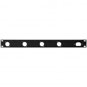19´´ frontplade 1U m/huller - RCP-8733U
