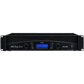 STA-600 PA-forstærker 2x300Wrms