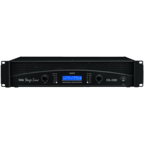 STA-1000 PA-forstærker 2x500Wrms
