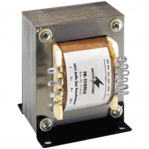 TR-1120LC Linietrafo monacor til 100 volts systemer