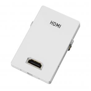 FUGA panel med HDMI stik til væg montering i fuga panel -  IP-HDMI