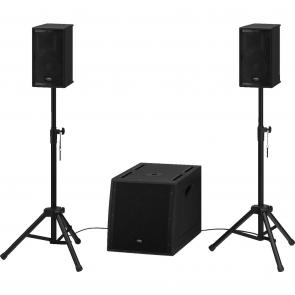Højttaler system aktiv med højttalerstativ - TRITON-550