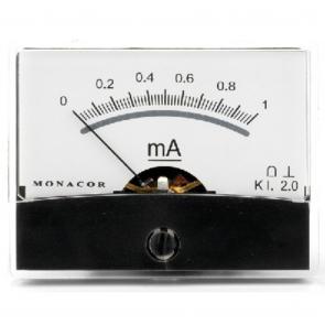 PM-2/1MA Panelmeter Amperemeter 1 mA
