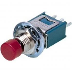 Mini trykknap rød - MS-650/RT