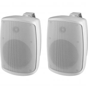 Højtalersæt i hvid til udendørs brug ip-65 - WALL-04T/WS