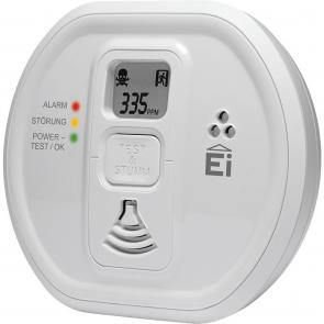 Kullite alarm med display 10 års batteri  - EI-208IDW