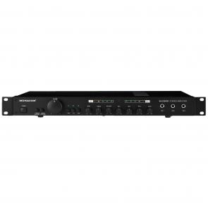 SA-230/SW Monacor Stereo mixer forstærker 2 x 50 watt til rack montering
