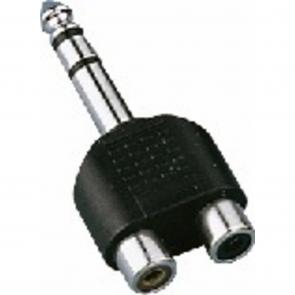Y-adapter phono/jack - NTA-178