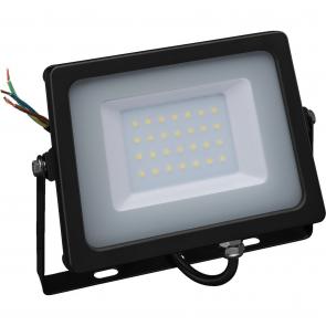 LED projektør 30W - LDFS-30/WS