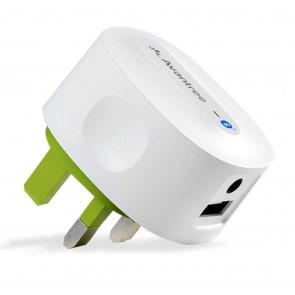 Bluetooth modtager med USB lader