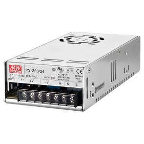 24 volts Strømforsyning til indbygning - PS-200/24
