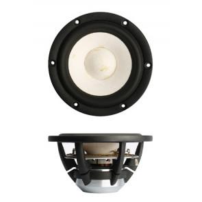 "SB Acoustics MW13PNW-4ohm  5"" Satori, midwoofer, white cone"