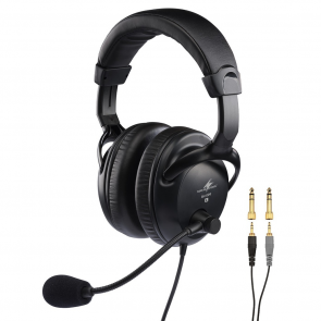 Headset med dynamisk mikrofon på bøjle  - BH-009