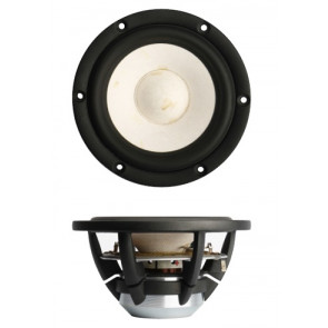 "SB Acoustics MW13PNW-8ohm  5"" Satori, midwoofer, white cone"