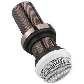 ECM-10/WS Mikrofon til indbygning hvid