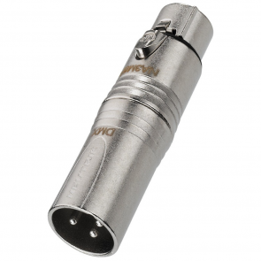 Neutrik XLR-adapter - NA-3M5F