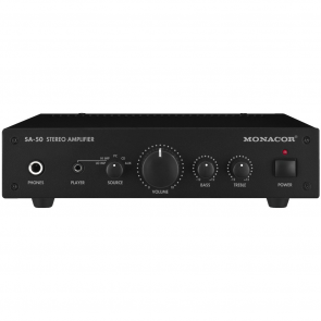 SA-50 Monacor stereo  Forstærker 2x25Wmax