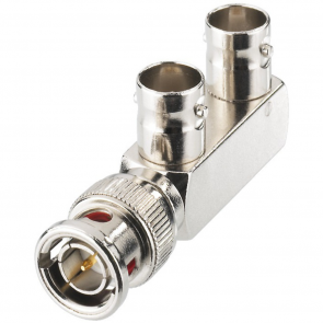 BNC-adapter 1 til 2 - BNC-1170