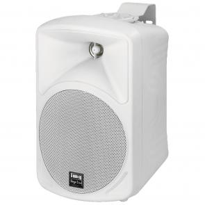 2 Vejs hvid højttaler med vægbeslag 16 ohm - PAB-416/WS