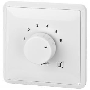 ATT-306 ELA-omskifter- vælg mellem 6 input kilder til en højttaler 100 volts systemer