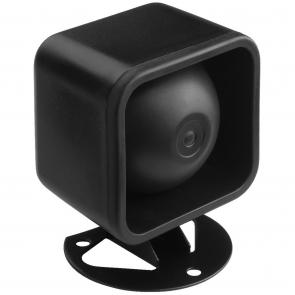 Lille sort Kompressionshøjttaler 10 watt - NR-18KS