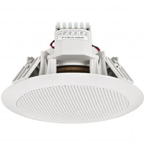 Vandtæt indbygnings højttaler 100 volt - EDL-155