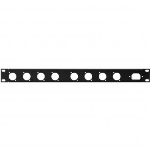 19´´ frontplade 1U m/huller - RCP-8734U