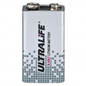 ULTRALIFE Lithium batteri 9V